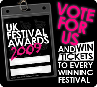 UK Festival Awards 2009